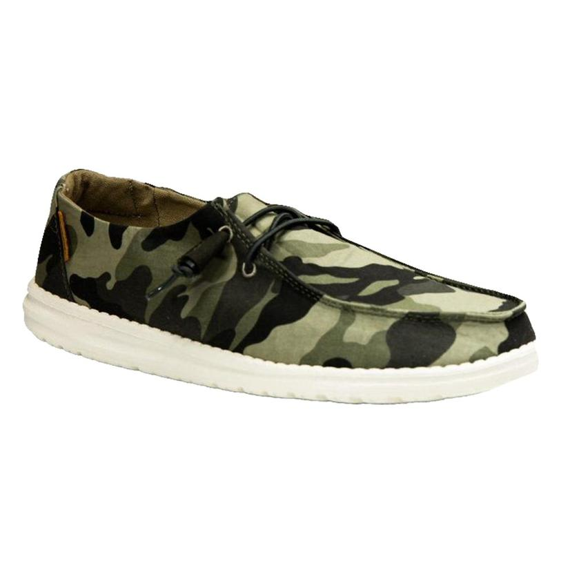 Hey Dude Wendy Women's Camo Shoe
