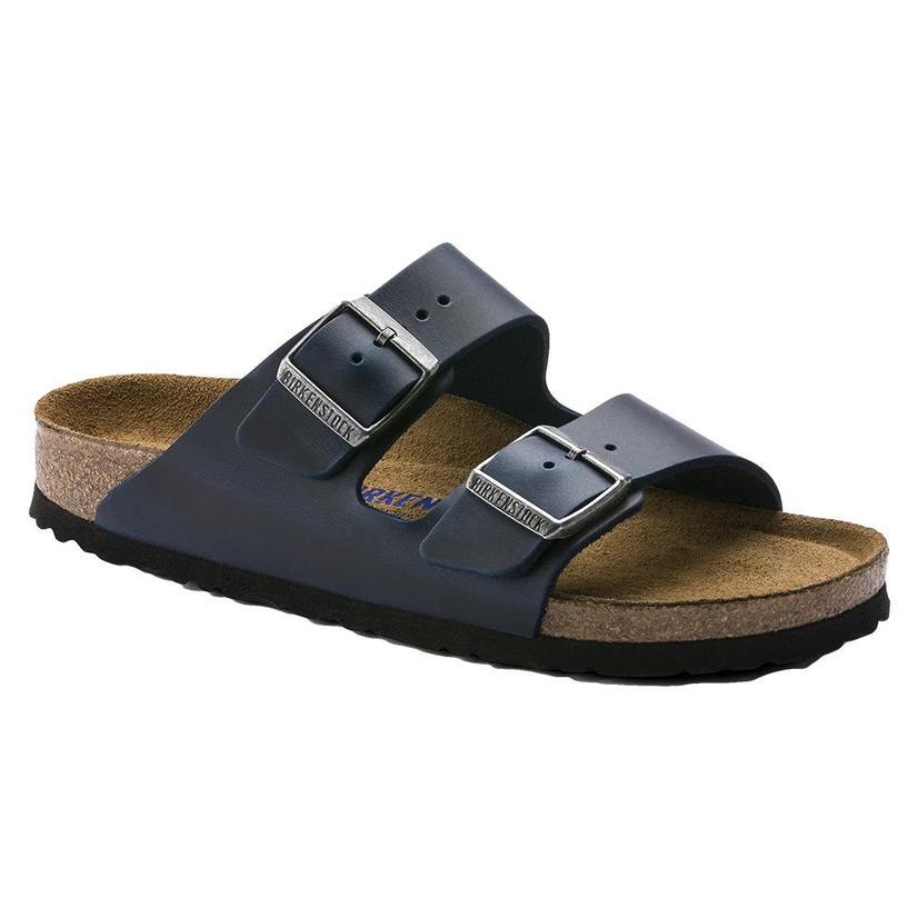 Birkenstock Arizona Blue Soft Footbed Sandal