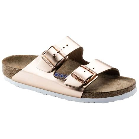 Birkenstock Arizona Metallic Copper Two Strap Women's Sandal