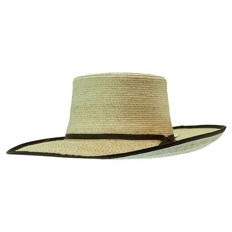 Sunbody Hat Reata Brown Suede Trim 4