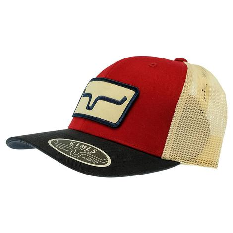Kimes Ranch The Cutter Mesh Back Snap Back Cap