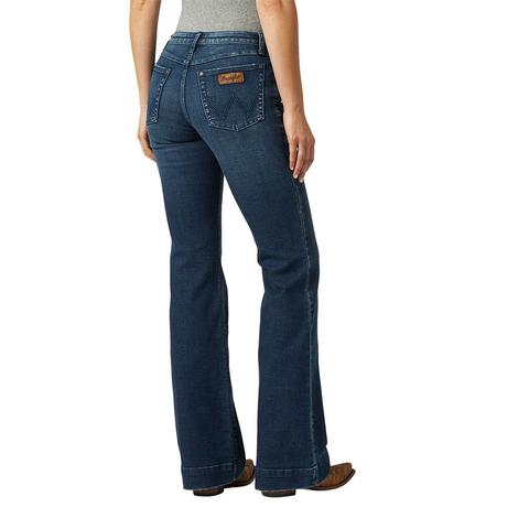 Wrangler Mid Rise Mae Women's Trousers