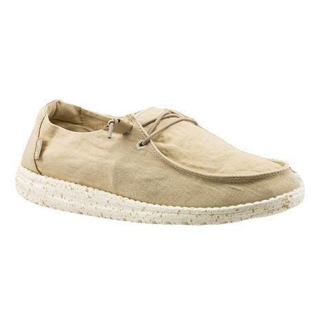 Hey Dude Wendy Beige Women's Slip On Shoes