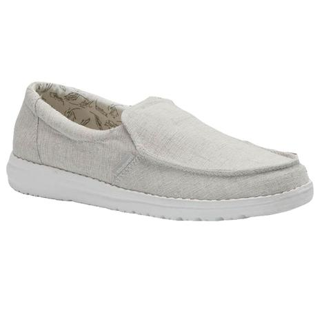 Hey Dude Misty Chambray Grey Women's Shoes