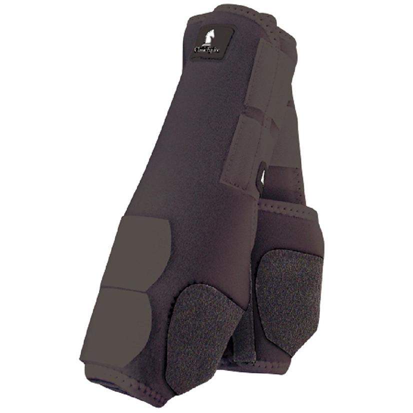 Classic Equine Front Legacy Sport Boot Front BLACK