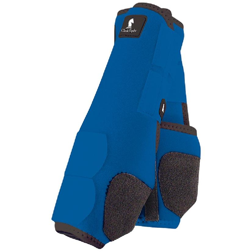 Classic Equine Front Legacy Sport Boot Front BLUE