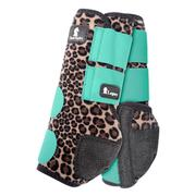 Classic Equine Front Legacy Sport Boot Front CHEETAH/MINT