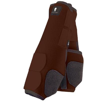 Classic Equine Front Legacy Sport Boot Front CHOCOLATE