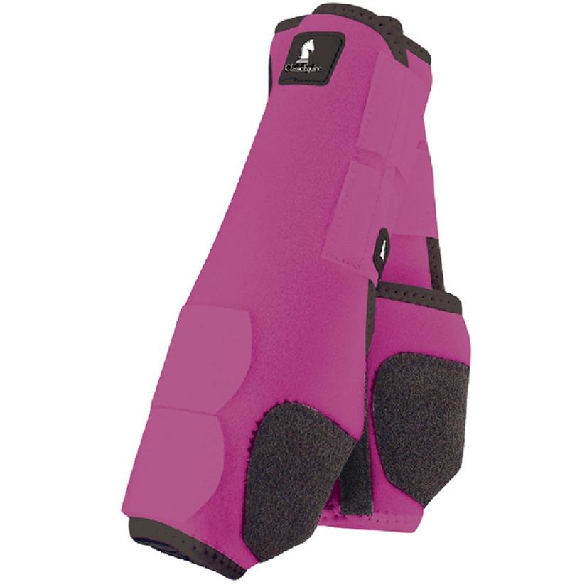 Classic Equine Front Legacy Sport Boot Front FUCHSIA