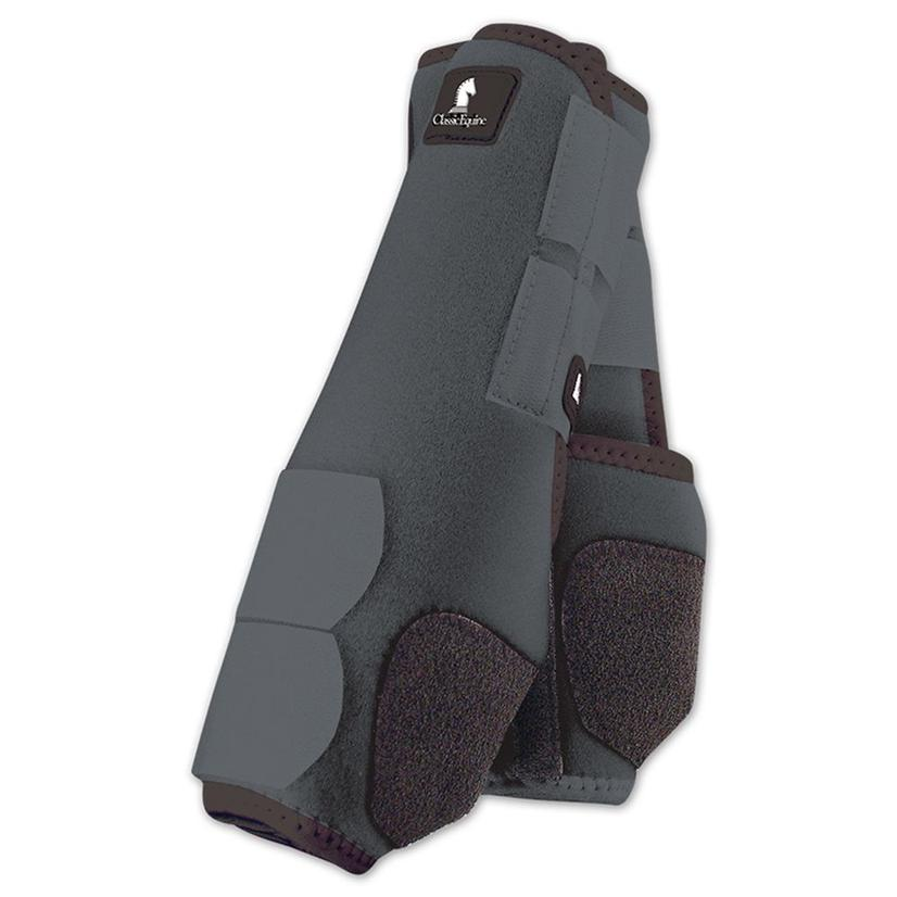 Classic Equine Front Legacy Sport Boot Front GREY