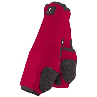 Classic Equine Front Legacy Sport Boot Front RED