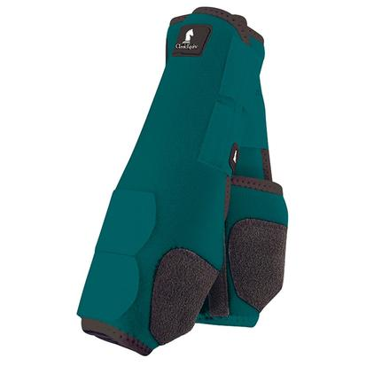 Classic Equine Front Legacy Sport Boot Front TEAL