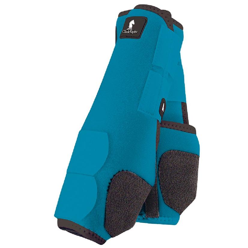 Classic Equine Front Legacy Sport Boot Front TURQUOISE