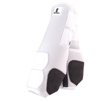 Classic Equine Front Legacy Sport Boot Front WHITE