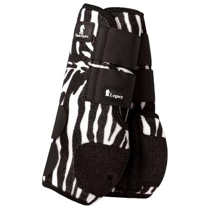 Classic Equine Front Legacy Sport Boot Front ZEBRA