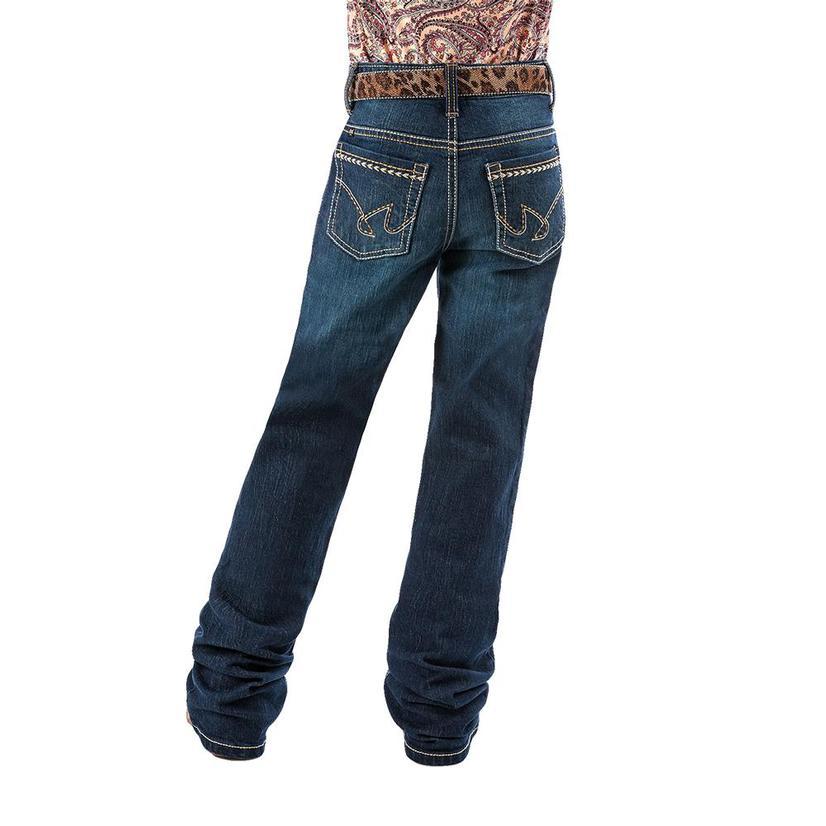 Cruel Girl Lucy Jean Midrise Regular Boot Cut Girl's Jeans