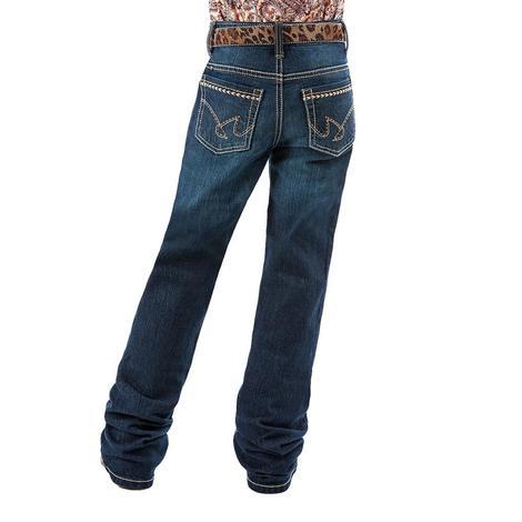 Cruel Girl Lucy Dark Stonewash Girl's Jeans