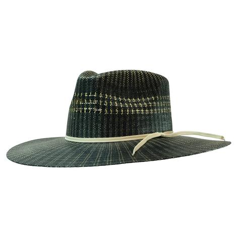 Charlie 1 Horse Blue Mesa Blue Natural Straw Hat