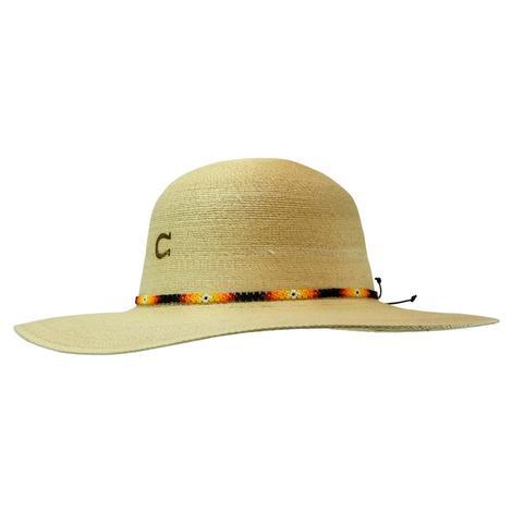Charlie 1 Horse Sunnie 3.75 Brim Natural Straw Hat