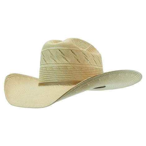 Resistol Wheat Ridge 4.25 Brim Drilex Natural Tan Straw Hat