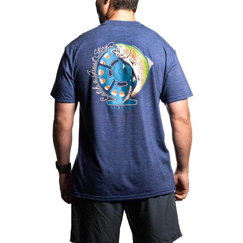 Burbelo Catch A Great Story Mens Tee