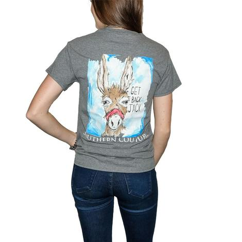 Get Back Jack - Southern Couture Gray T-shirt - Donkey