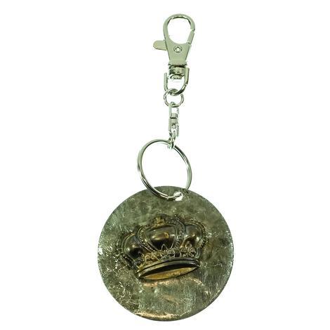 Keychain Round Crown