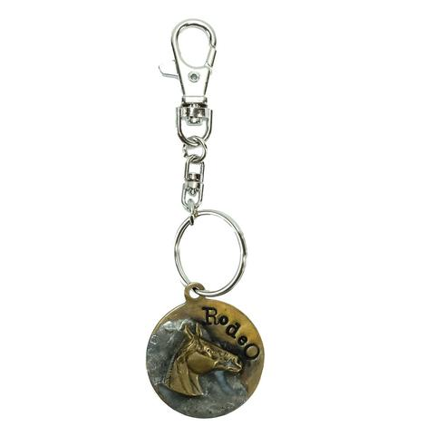 KeyChain Rodeo Horse
