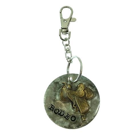Keychain Rodeo with Saddle