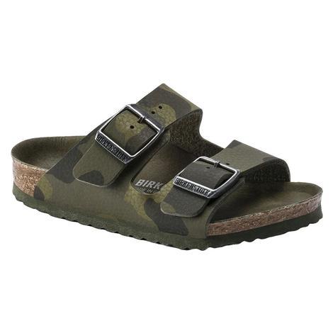 Birkenstock Kid's Arizona Camo Green Sandal