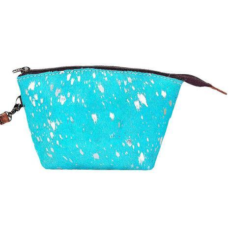 American Darling Bags Turquoise Medium Cosmetic Bag