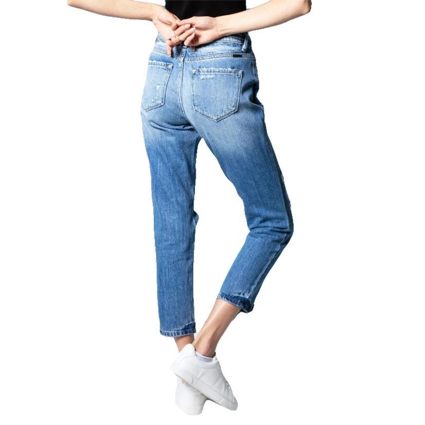 Kancan Boyfriend Medium Wash Women's Jeans