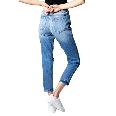Kancan Boyfriend Medium Wash Women's Jeans
