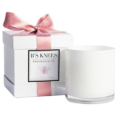 B'S Knees 3 Wick French Flower Market Candles