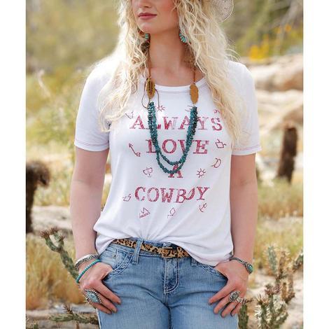 Cruel Girl Always Love a Cowboy Women's Tee
