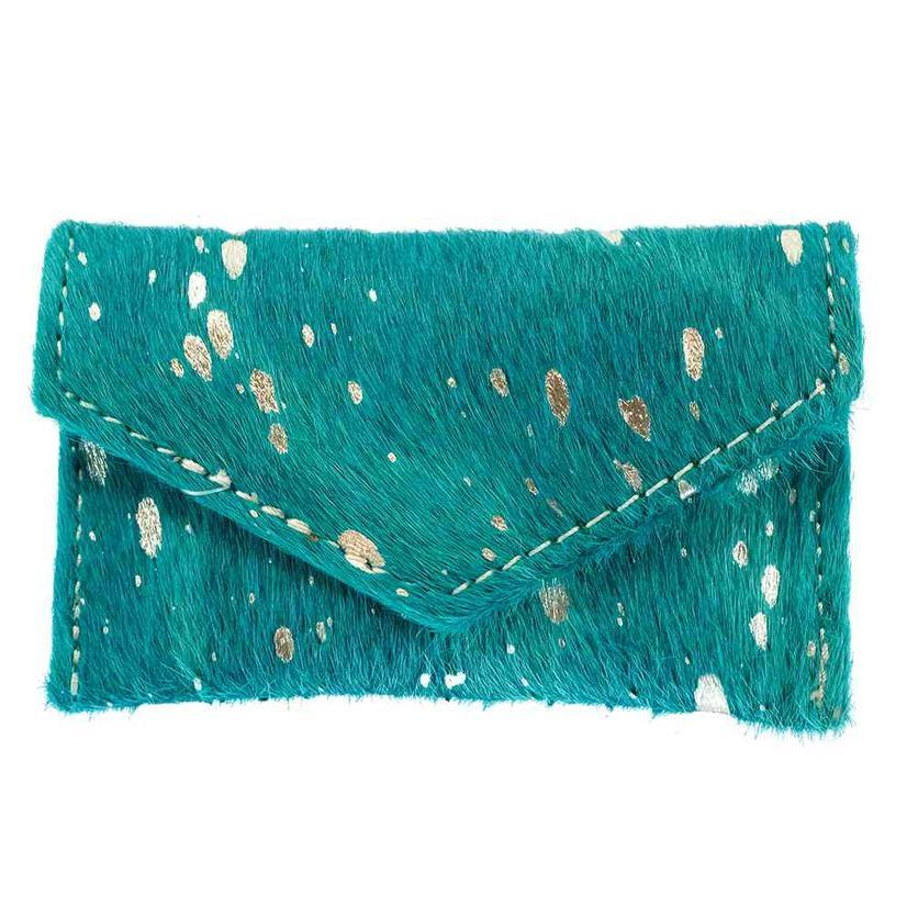 American Darling Bags Turquoise Hide Wallet