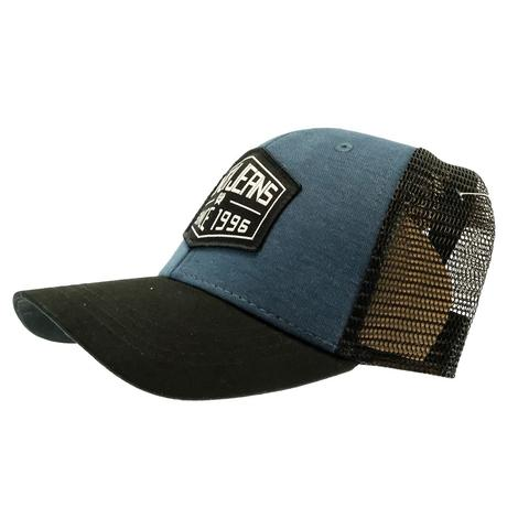 Cinch Jeans 1996 Blue Grey Black Cap