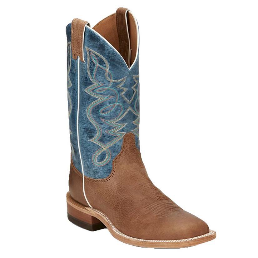Bent Rail Blue Mist Moka Cowhide Women's Boots