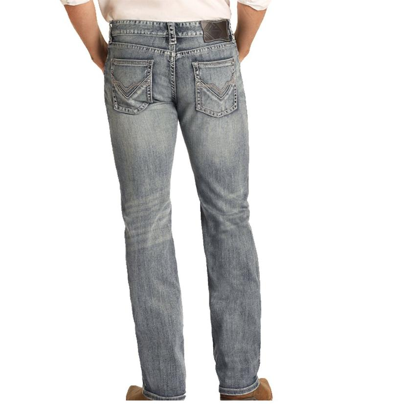 Rock And Roll Cowboy Pistol Straight Leg Medium Vintage Men's Jeans