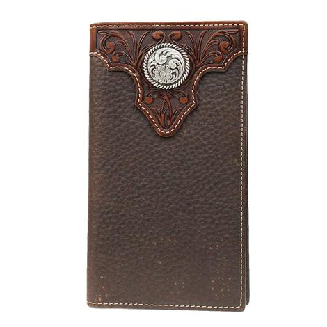 Ariat Brown Concho Rodeo Wallet
