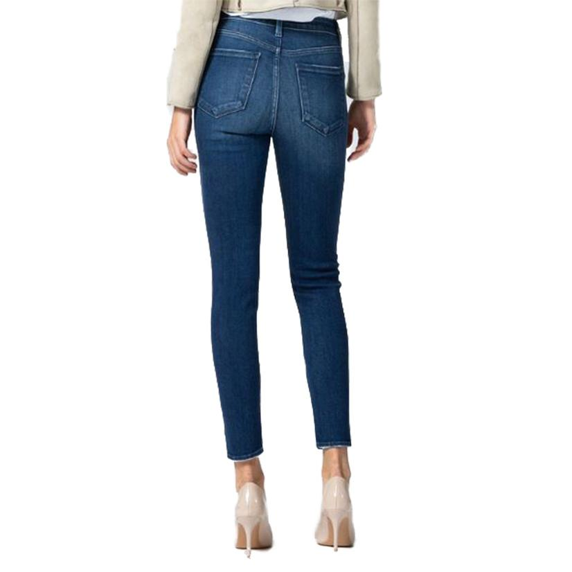 Vervet High Rise Crop Skinny Leg Women's Jeans