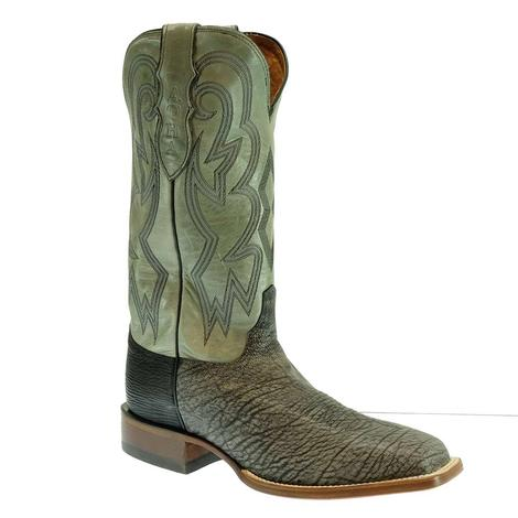 Justin AQHA Antracite Goat Grey Men's Boots