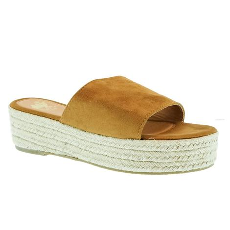 Lulu Tan Espadrille Platform Sandals