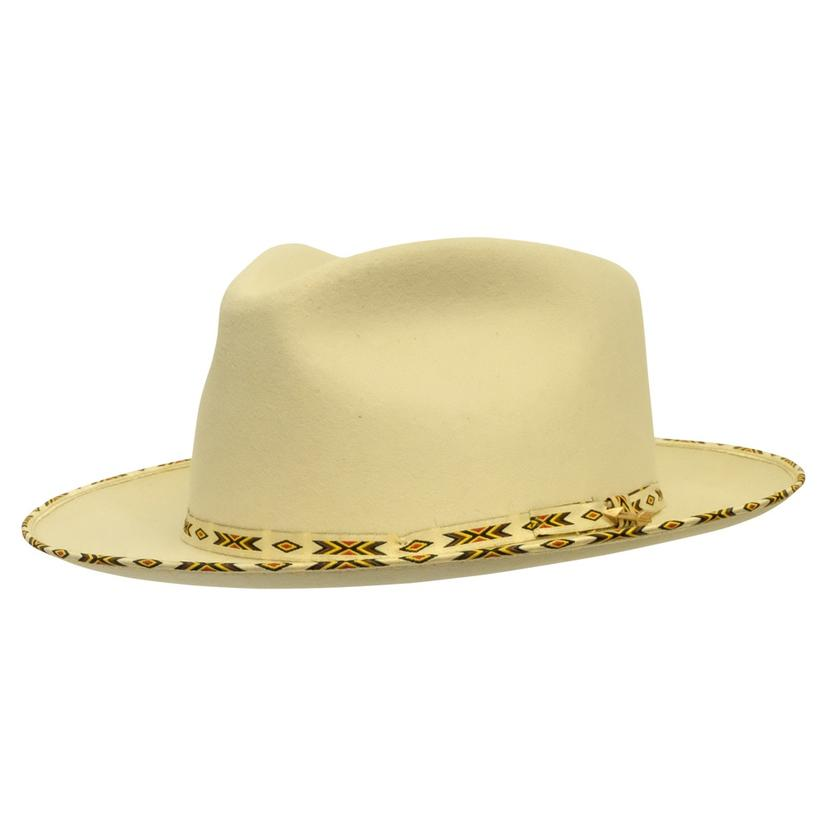 Stetson Vanguard Bone Straw Hat