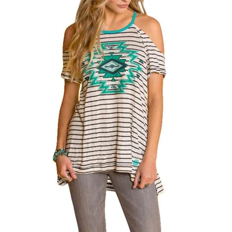 Double D Ranch Maricopa Cold Shoulder Top
