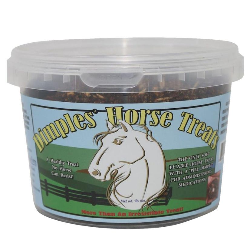 Dimples Horse Treats 1lb Bucket