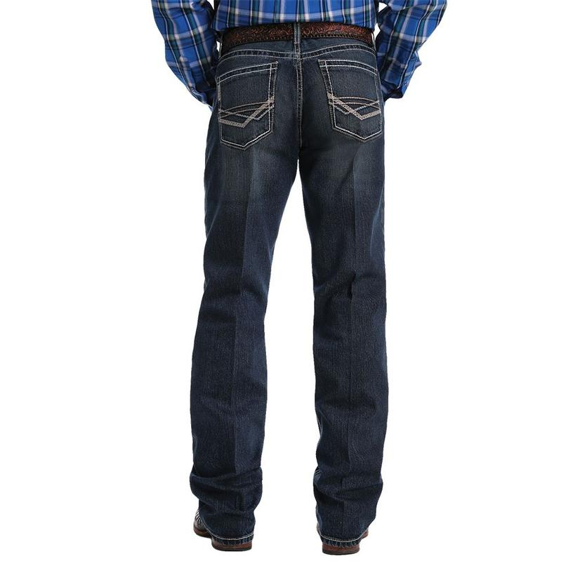 Cinch Grant Mid Rise Dark Wash Bootcut Men's Jeans