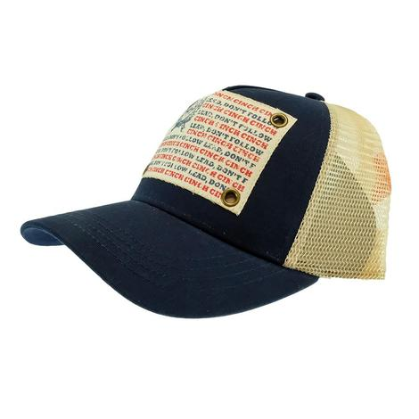 Cinch Navy Lead Don't Follow Meshback Cap
