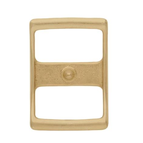 Solid Brass Conway Buckle 5/8