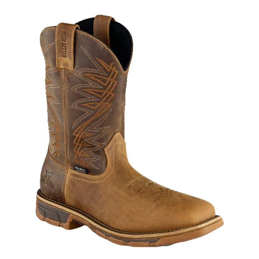 Irish Setter Marshall Brown Waterproof Steel Toe Men's Boots